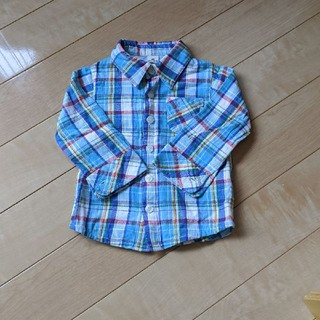キムラタン(キムラタン)のLa Chiave チェックシャツ 80(シャツ/カットソー)