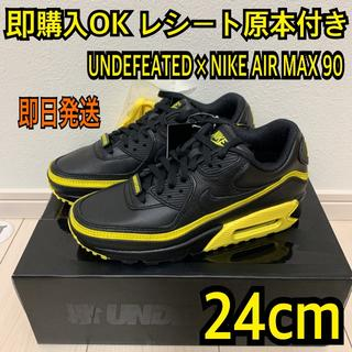 ナイキ(NIKE)の即購入OK 24cm ナイキ エアマックス90 アンディフィーテッド イエロー(スニーカー)