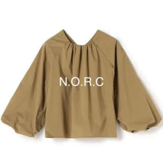 Drawer - N.O.R.C  【VERY10月号掲載】ギャザーネックブラウス