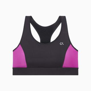 カルバンクライン(Calvin Klein)のカルバンクライン パフォーマンス スポーツ ブラ レーサーバック 黒 M CK(ブラ)