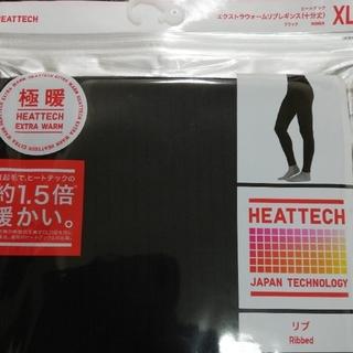 UNIQLO - XLユニクロヒートテック極暖エクストラウォームリブレギンス