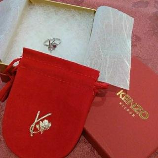 KENZO - 指輪 プラチナリング KENZO ルビー