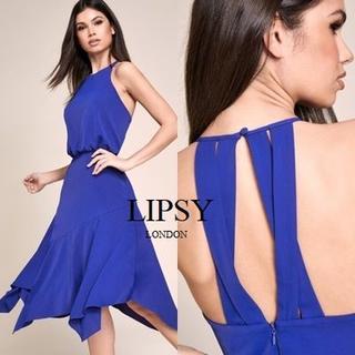 リプシー(Lipsy)のLipsy フィット&フレア ミディアムドレス(ミディアムドレス)