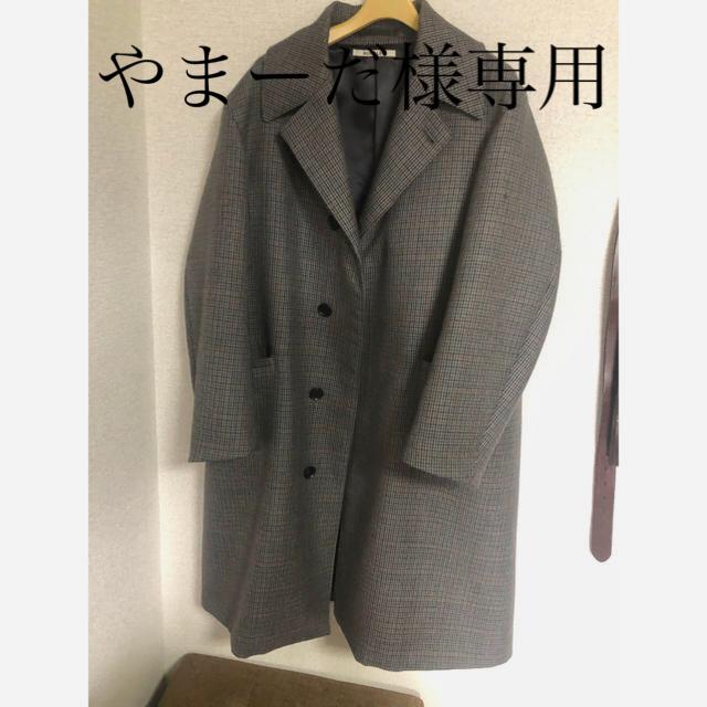 COMOLI(コモリ)のオーラリー コート ダブルフェイス 18ss メンズのジャケット/アウター(トレンチコート)の商品写真