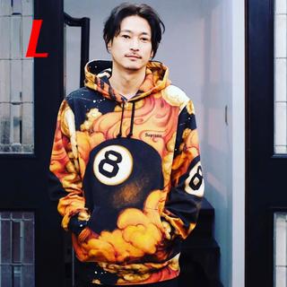 Supreme - 【L】Supreme 8-Ball Hooded Sweatshirt 総柄