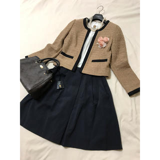 エムプルミエ(M-premier)の美品 エムプルミエ  セットアップ ジャケット スカート 入学 入園 卒業 卒園(スーツ)