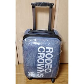 ロデオクラウンズ(RODEO CROWNS)の新品超レア ロデオクラウンズ  RCWB 鍵付きキャリーケース(スーツケース/キャリーバッグ)