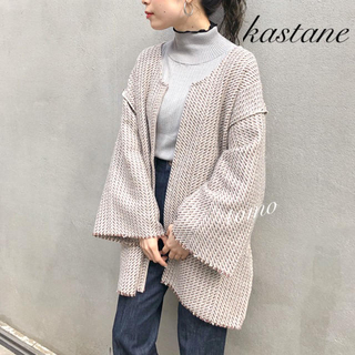 Kastane - 今季新作❁カスタネ ジャガード織りリンキングガウン