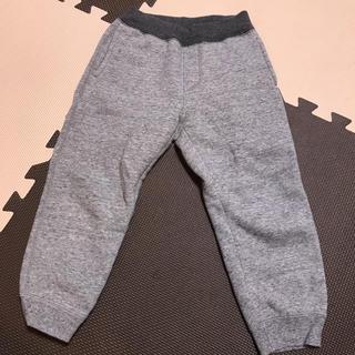 ユニクロ(UNIQLO)のUNIQLO 男女共用 ボアスウェットパンツ 90-100センチ(パンツ/スパッツ)