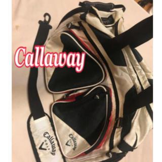 キャロウェイゴルフ(Callaway Golf)のCallaway キャロウェイ ゴルフバッグ 多機能 黄ばみ汚れあり(バッグ)
