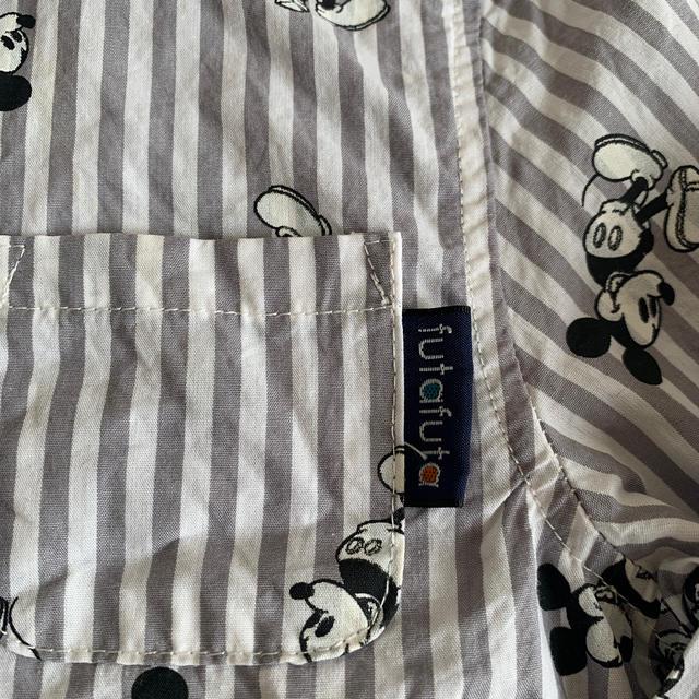 futafuta(フタフタ)のミッキー フタフタ futafuta バースデイ ストライプ シャツ キッズ/ベビー/マタニティのキッズ服男の子用(90cm~)(Tシャツ/カットソー)の商品写真
