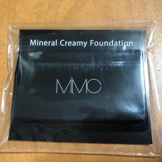 エムアイエムシー(MiMC)の【MiMC】ミネラルクリーミーファンデーション サンプル(ファンデーション)