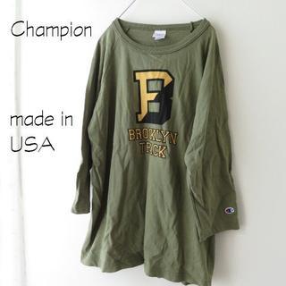 Champion - 新品 Champion チャンピオン Tシャツ BIG