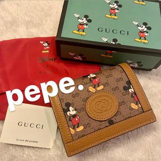 Gucci - GUCCI グッチ ミッキー ディズニー コラボ 折り財布 ウォレット ケース