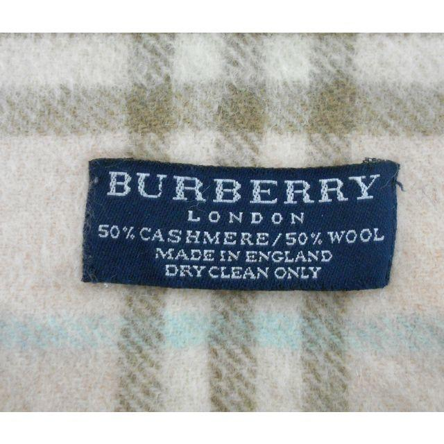 BURBERRY(バーバリー)のバーバリーマフラー 混合  BM00301 レディースのファッション小物(マフラー/ショール)の商品写真