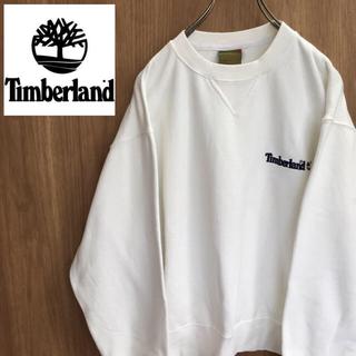 ティンバーランド(Timberland)の【激レア】ティンバーランド☆刺繍ロゴ スウェットUSA製 90s(スウェット)