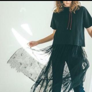 Mila Owen - ミラオーウェン レーススカート付きTシャツ