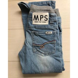 エムピーエス(MPS)のRight-on MPS デニムパンツ 110cm(パンツ/スパッツ)