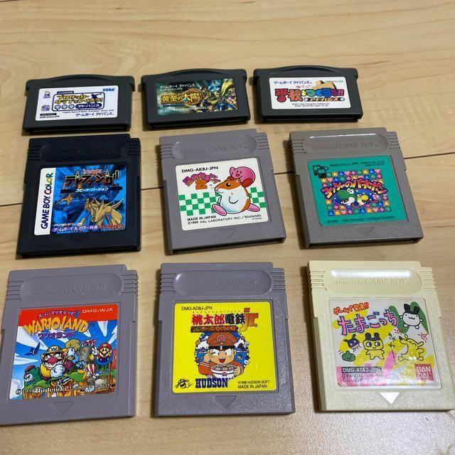 ゲームボーイアドバンス(ゲームボーイアドバンス)のゲームボーイアドバンス、ゲームボーイ ソフト11点セット エンタメ/ホビーのゲームソフト/ゲーム機本体(携帯用ゲームソフト)の商品写真