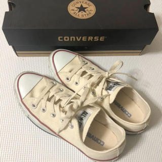 CONVERSE - 美品 コンバース スニーカー オールスター ホワイト 白