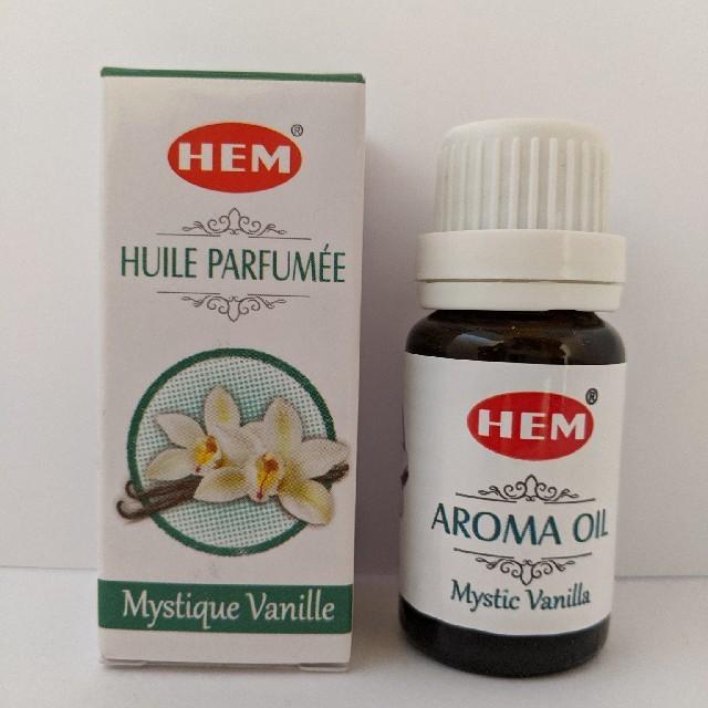 【まとめ値引き可】HEM アロマオイル バニラ コスメ/美容のリラクゼーション(アロマオイル)の商品写真