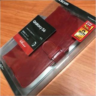 エレコム(ELECOM)の★Galaxy S6用手帳型カバー PD-SCGS6PLFYDRD♪(Androidケース)