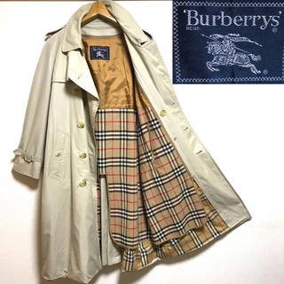 BURBERRY - 希少!日本製!バーバリープローサム ノバチェック ライナー付トレンチコート