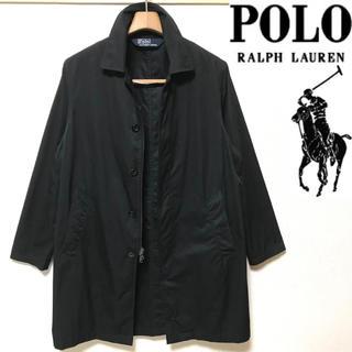 ポロラルフローレン(POLO RALPH LAUREN)の希少!Ralph Laurenポロラルフローレン  ブラック ステンカラーコート(ステンカラーコート)