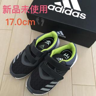adidas - 【新品未使用】アディダス スニーカー 17.0cm  ブラック