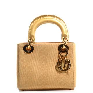 Dior - 美品 Dior ディオール レディディオール スウェード イエロー 保証書
