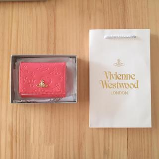 Vivienne Westwood - ヴィヴィアン 3つ折り財布ピンク