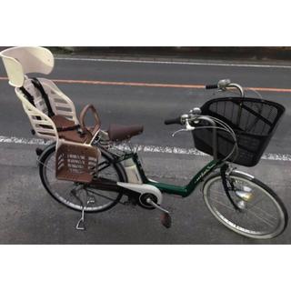 ヤマハ(ヤマハ)のJ2M電動自転車f32Lヤマハパスリトルモア 3.7アンペア(自転車)
