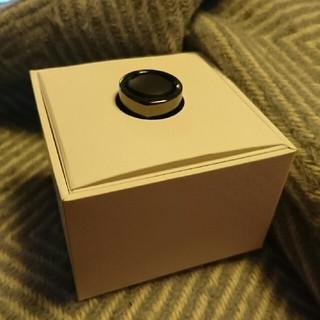 ニューバランス(New Balance)のoura ring オーラリング 黒 black Balance US6(リング(指輪))