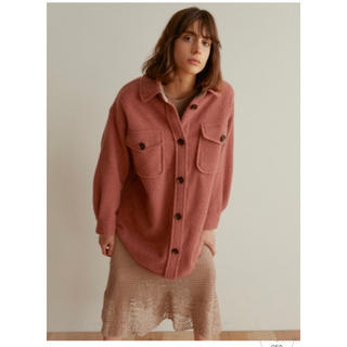 snidel - snidel ウールシャツジャケット