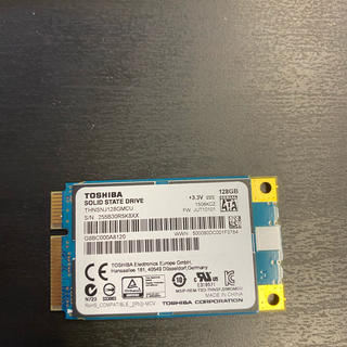 東芝 Toshiba Msata SSD128GB  windows10 搭載