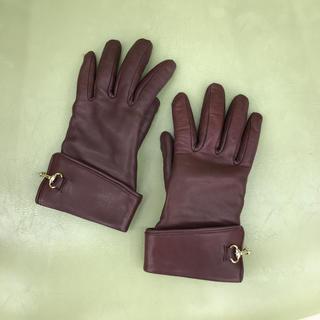 皮の手袋(手袋)