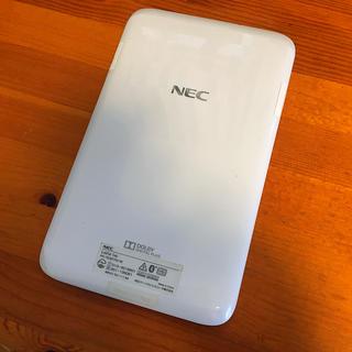 エヌイーシー(NEC)のNEC lavie tab PC-TE307N1W ジャンク(タブレット)