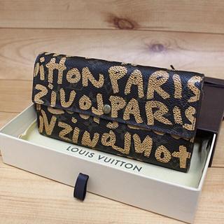 LOUIS VUITTON - 正規品【限定品】LOUIS VUITTON グラフィティ 長財布