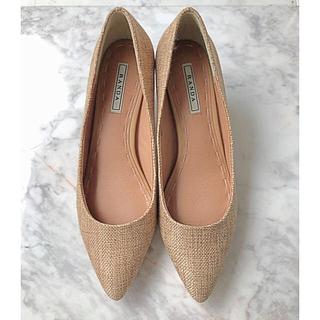 RANDA - 【RANDA】ランダ キャメル 23.5cm 春靴 パンプス ベージュ系
