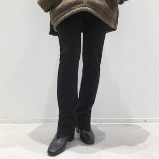 L'Appartement DEUXIEME CLASSE - L'Appartement Wool Zip Leggings ブラック