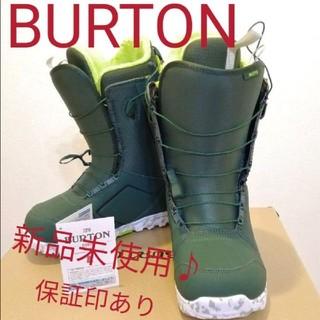 BURTON - 新品未使用タグ付き Burton(バートン) スノーボード ブーツMOTO 保証
