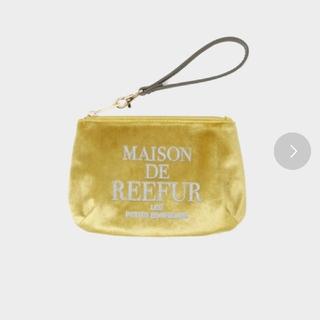 Maison de Reefur - 【MAISON DE REEFUR】ベロア クラッチポーチ