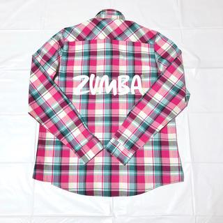 Zumba - ズンバ zumba  チェックシャツ サイズS