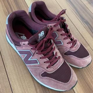 New Balance - 23.5センチニューバランス996バーガンディワインレッド