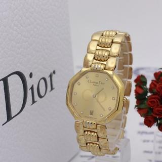クリスチャンディオール(Christian Dior)の正規品【新品電池】Christian Dior 45.154/オクタゴン 11P(腕時計(アナログ))
