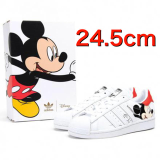 adidas - adidas SUPERSTAR ミッキーマウス 24.5cm