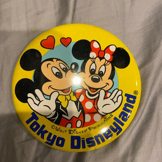 ミッキーマウス ミニーマウス 缶バッジ