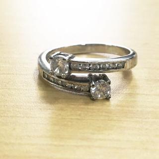 シルバー SV 925 リング 指輪 3.3g (94002194)(リング(指輪))