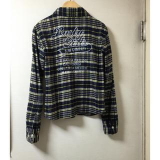 ラスティ(RUSTY)の美品、rustyのネルシャツ(シャツ/ブラウス(長袖/七分))