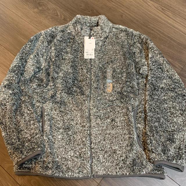 UNIQLO(ユニクロ)のユニクロ KIDS  フリース ジャケット 160サイズ 未使用 キッズ/ベビー/マタニティのキッズ服女の子用(90cm~)(ジャケット/上着)の商品写真